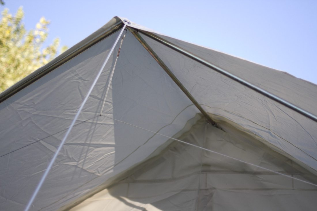 Tent w awning elk mountain tents for Build your own canopy frame
