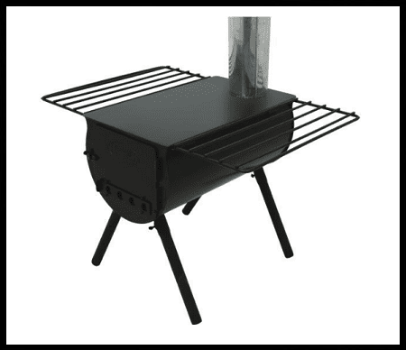 wood stove for camping