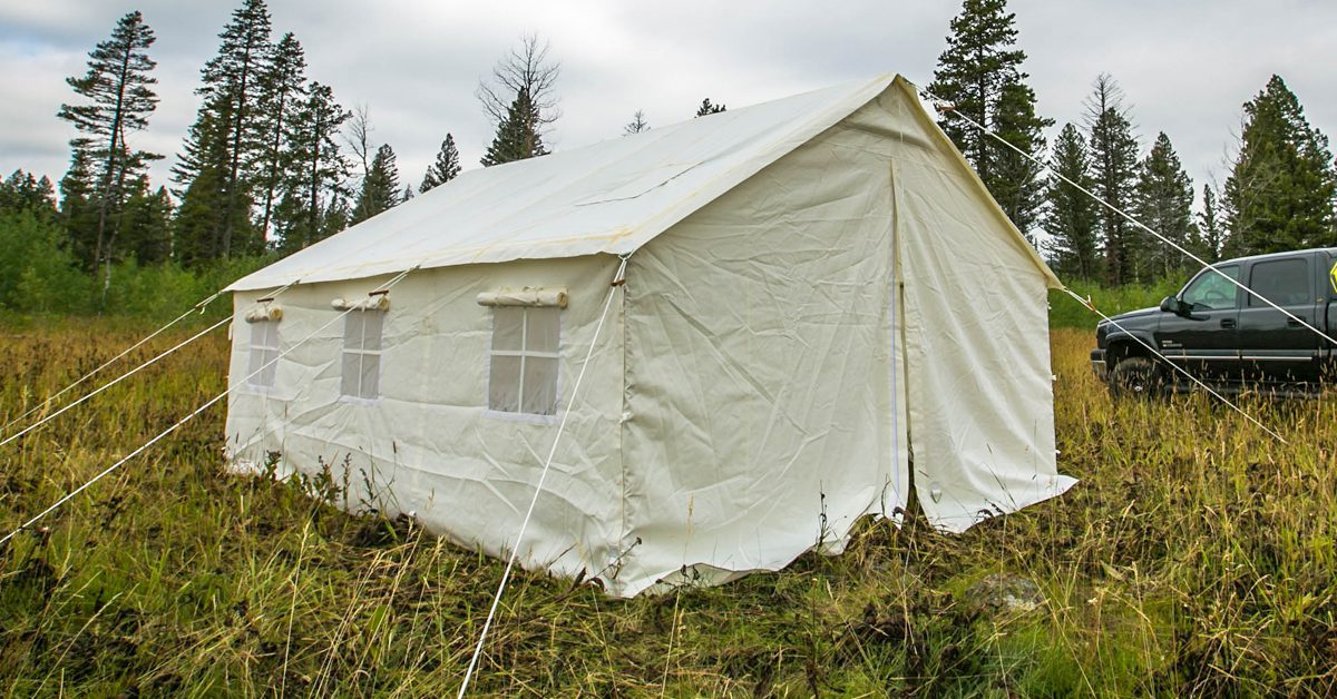 Elk Mountain Tents - Canvas Tents, Wall Tents, for Camping