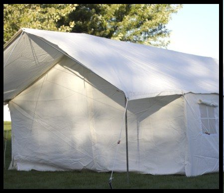 Tent w/ Awning & Elk Mountain Tents - Canvas Tents for Sale