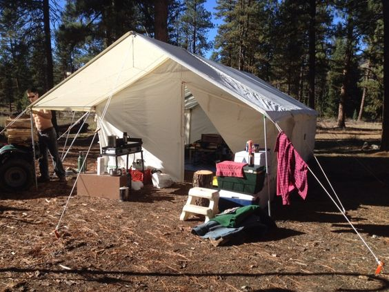 finest selection fe322 5bf1a Living in a Canvas Wall Tent - Discussion - Elk Mountain Tents