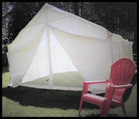 canvas tent for camping