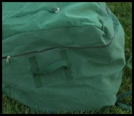 canvas tent bag