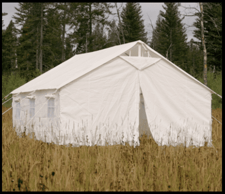 Tent W Awning Elk Mountain Tents