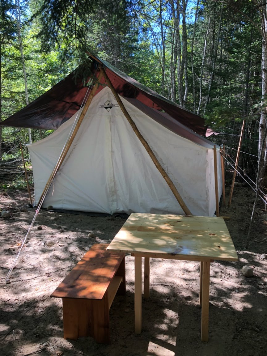 Canvas Tent No Frame