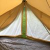 Bell tent screen door