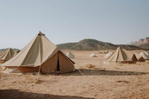 Best tents for hot weather camping.