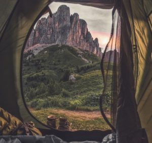 Let's buy a multi-room tent!