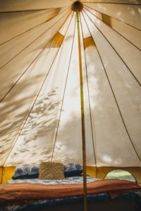 Can you live in a bell tent?